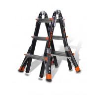 LITTLE GIANT Dark Horse Model 13 Fibreglass Telescopic Ladder 0.9m - 3.3m