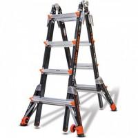 LITTLE GIANT Dark Horse Model 17 Fibreglass Telescopic Ladder 1.2m - 4.5m