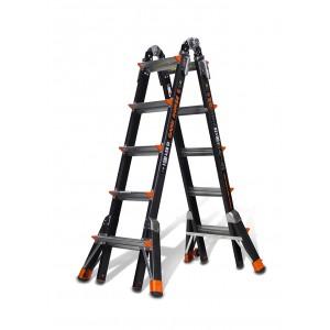 LITTLE GIANT Dark Horse Model 22 Fibreglass Telescopic Ladder 1.5m - 5.7m
