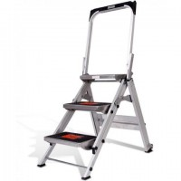 LITTLE GIANT Safety Step Stair Ladder 3 Steps 0.69m