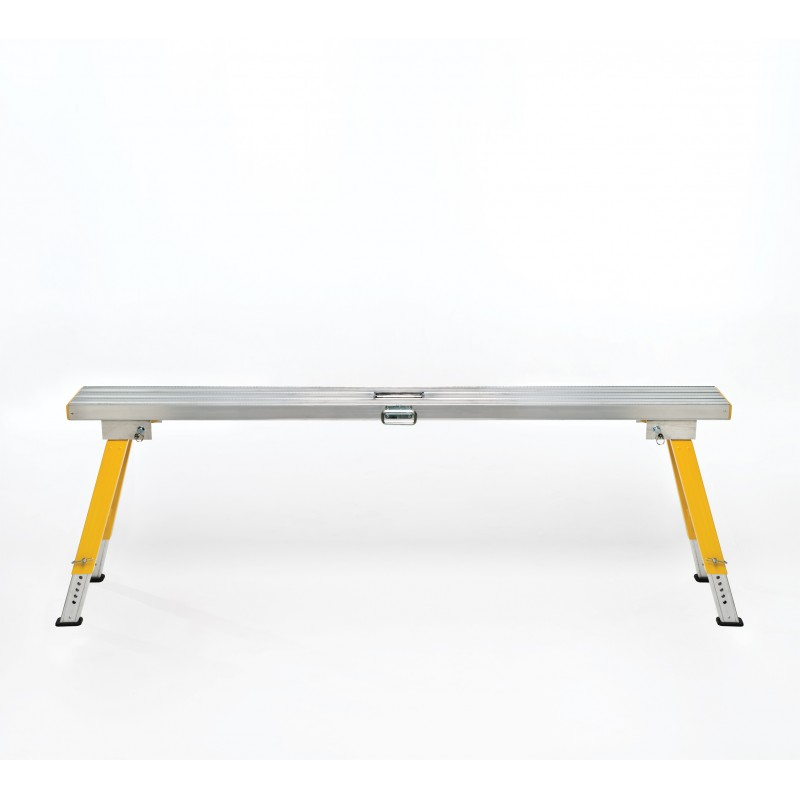 Altech 2.5m Super Stool Work Platform Adjustable Height 550mm-800mm image