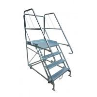 Steel Order Picking Ladder  image