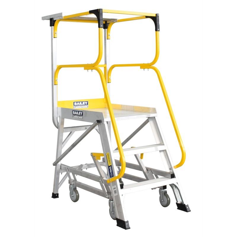 Bailey Ladderweld Access Platform Order Picking Ladder 0