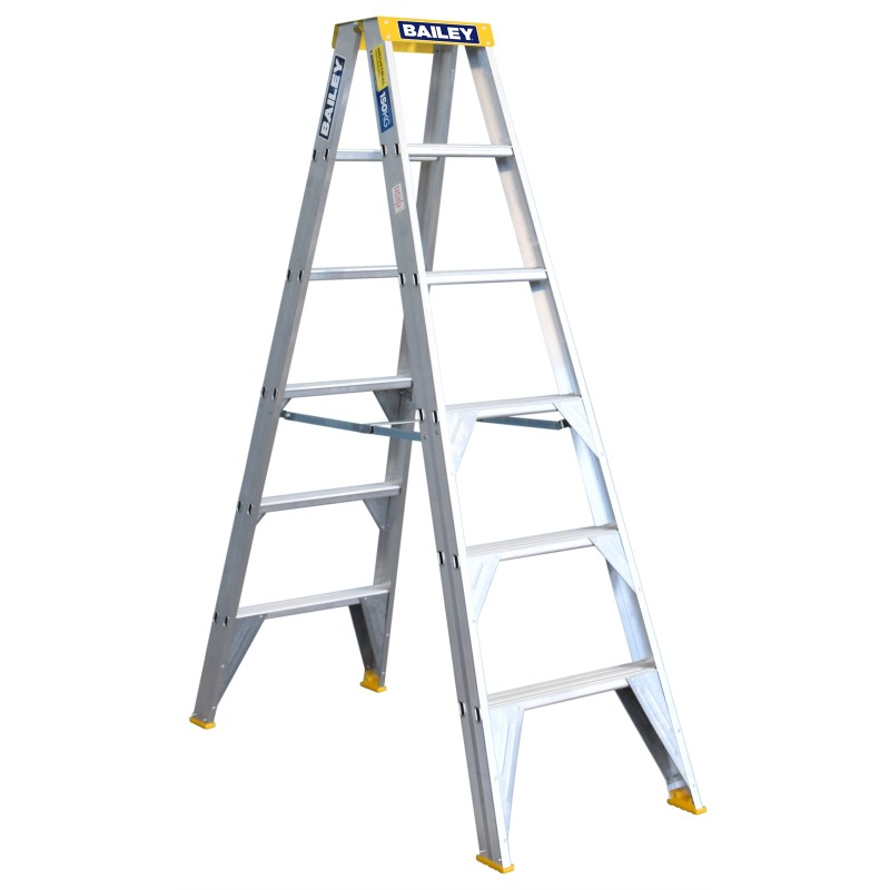 Bailey Professional Punchlock Double Sided Step Ladder 6ft
