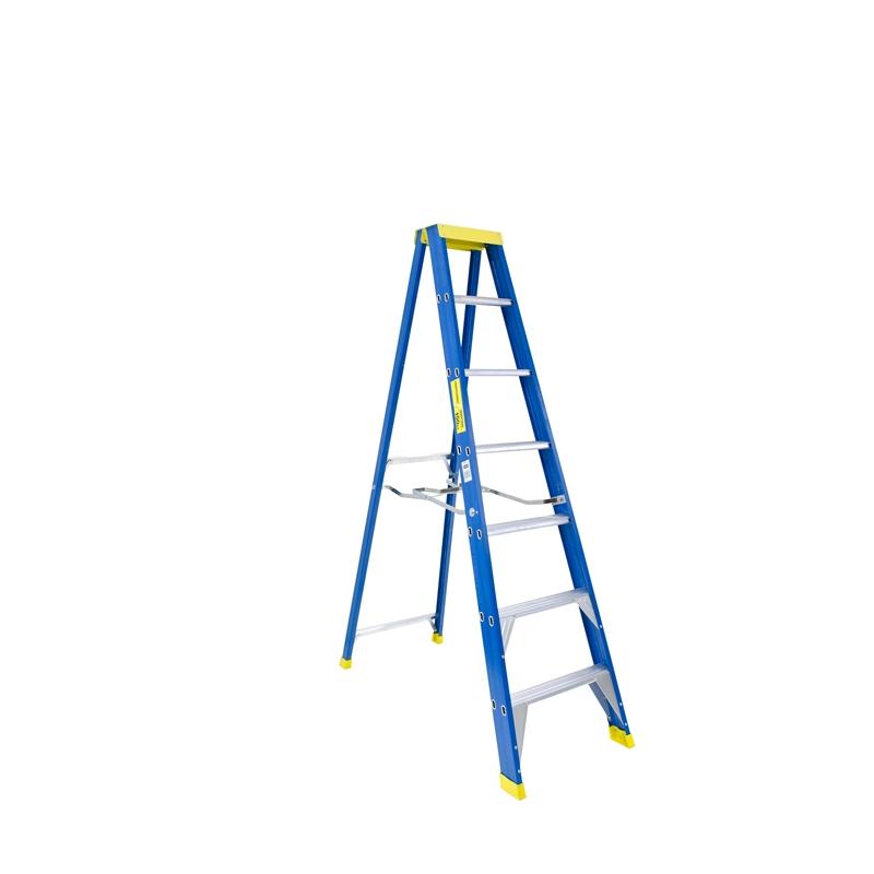 BAILEY Professional Punchlock Fibreglass Single Sided Step Ladder 7ft 2.1m image