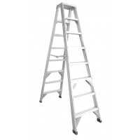 CLIMBMAX Aluminium Double Sided Step Ladder 120 kg 6ft 1.8m