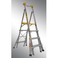 GORILLA Aluminium Adjustable Platform Ladder 1.2m - 1.8m