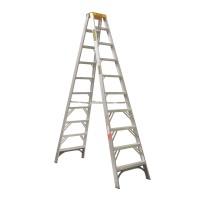 GORILLA Aluminium Double Sided Step Ladder 150 kg 10ft 3.0m