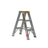 GORILLA Aluminium Double Sided Step Ladder 150 kg 3ft 0.9m