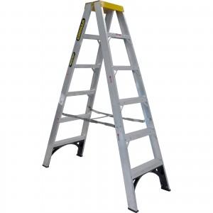 GORILLA Aluminium Double Sided Step Ladder 150 kg 6ft 1.8m