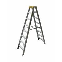 GORILLA Aluminium Double Sided Step Ladder 150 kg 8ft 2.4m