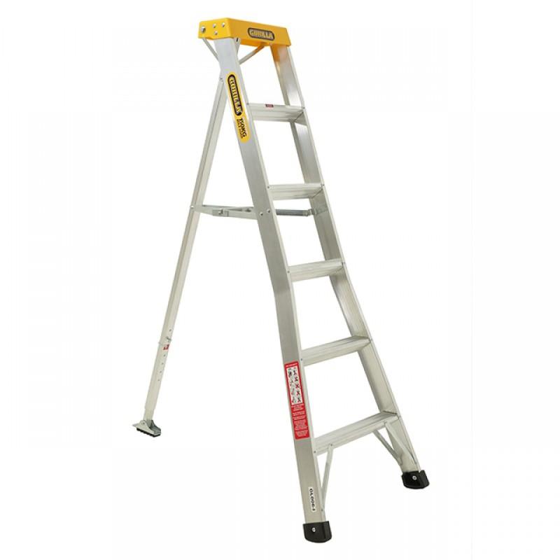 GORILLA Aluminium Orchard Ladder 6ft 1 8m