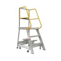GORILLA Aluminium Order Picking Ladder 200kg 0.9m