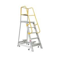 GORILLA Aluminium Order Picking Ladder 200kg 1.5m