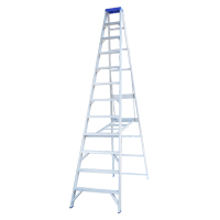 Aluminium Single Sided Step Ladders image