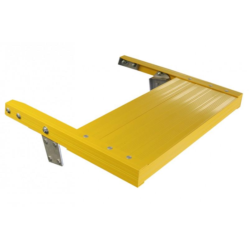 Indalex Platform Ladder Heavy Duty Top Shelf Ladder