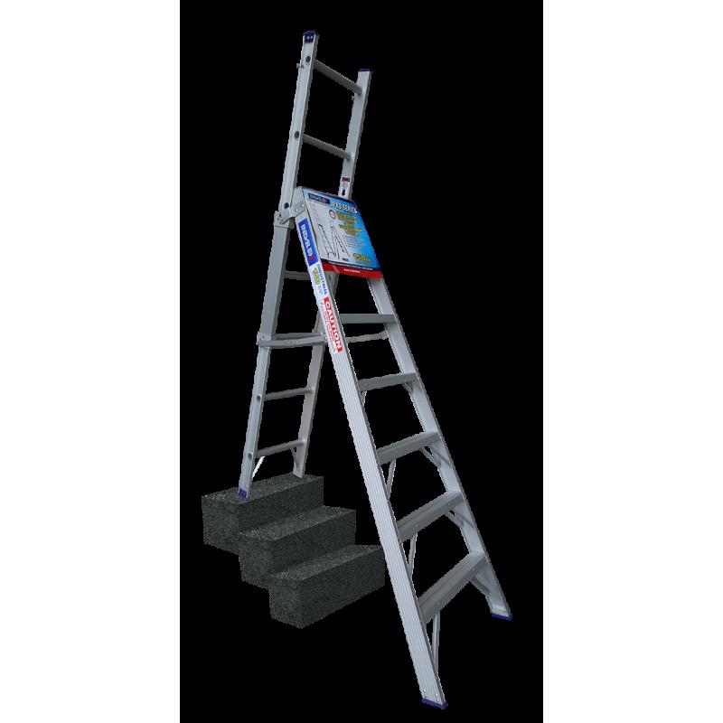 Indalex Pro Series Aluminium 5 Way Combination Ladder 2 1m