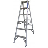 INDALEX Pro Series Aluminium Double Sided Step Ladder 5ft 1.5m