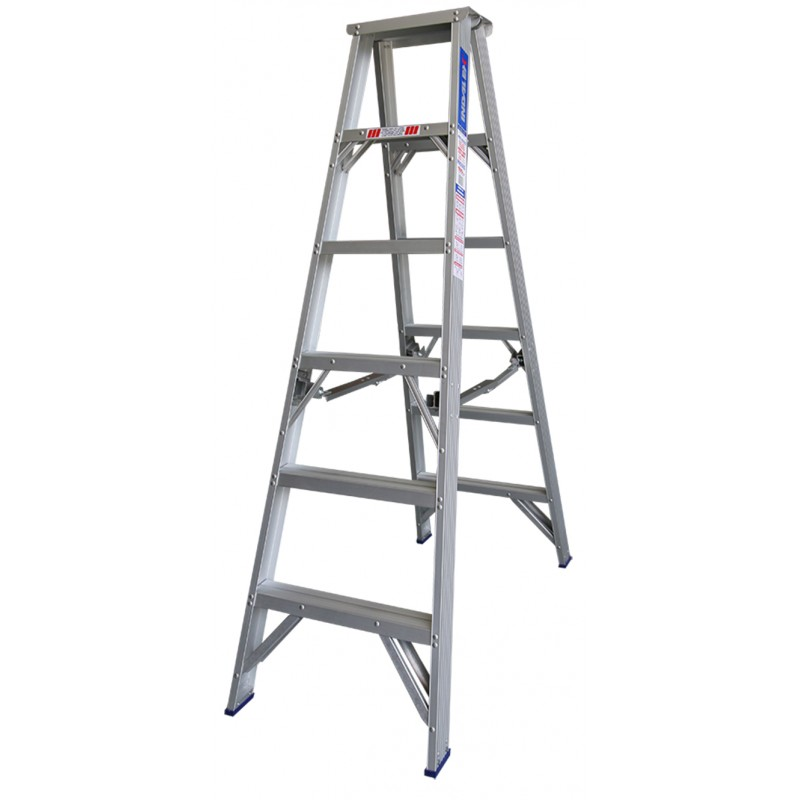 Indalex Pro Series Aluminium Double Sided Step Ladder 5ft