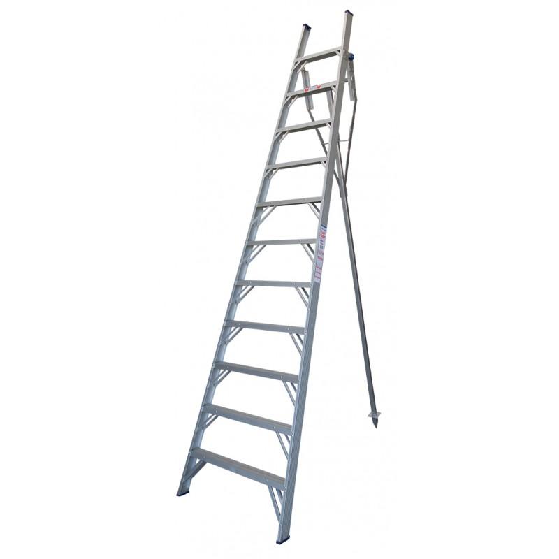 Indalex Pro Series Aluminium Orchard Ladder 14ft 4 3m