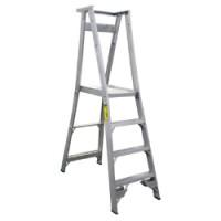 Heavy Duty Aluminium Platform Ladders