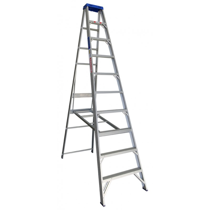 INDALEX Pro Series Aluminium Single Sided Step Ladder 10ft 3.0m