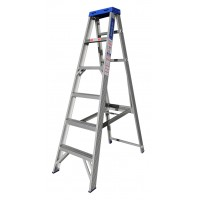 INDALEX Pro Series Aluminium Single Sided Step Ladder 6ft 1.8m