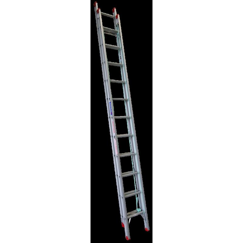 Indalex Tradesman Aluminium Extension Ladder 22ft 3 8m 6