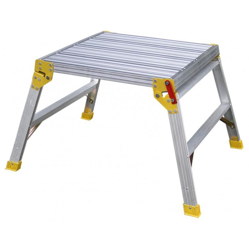 Indalex Tradesman Aluminium Work Platform 600mm X 600mm