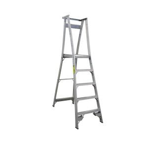 INDALEX Pro Series Aluminium Platform Ladder 5 Steps 8ft/5ft (2.4m/1.5m)
