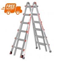 LITTLE GIANT Classic Model 26 Telescopic Ladder 1.93m - 7.01m