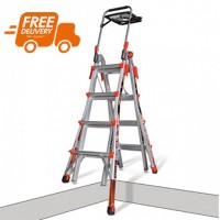 LITTLE GIANT Xtreme Model 17 Telescopic Ladder with Ratchet Levellers 1.21m - 4.57m