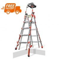 LITTLE GIANT Xtreme Model 22 Telescopic Ladder with Ratchet Levellers 1.52m - 5.79m