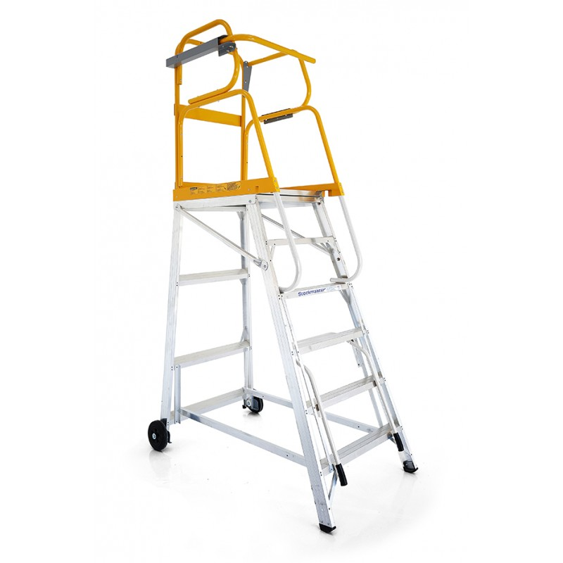 Stockmaster Tracker All Terrain Mobile Platform Ladder