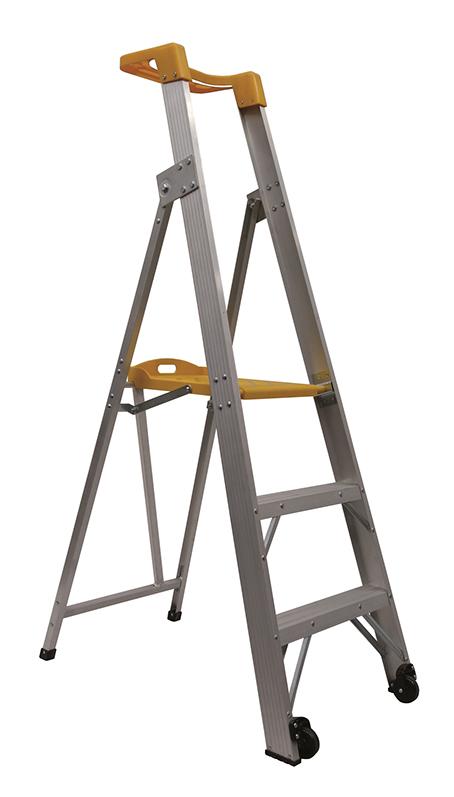 Gorilla Compact Aluminium Platform Ladder 3ft 0 9m