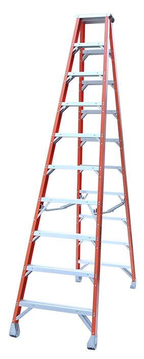 Indalex Pro Series Fibreglass Double Sided Step Ladders