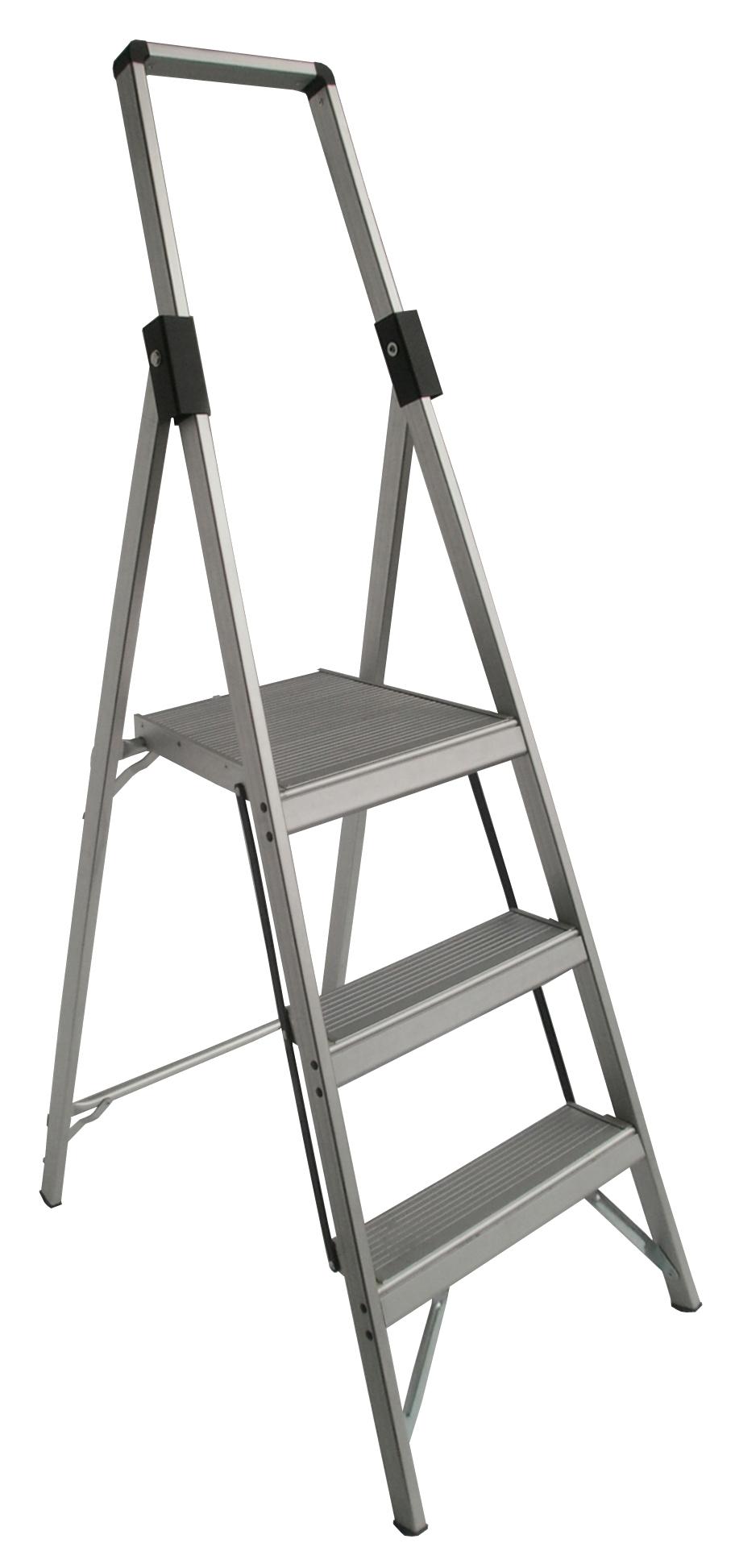 Indalex Tradesman Aluminium Slimline Platform Ladder 3
