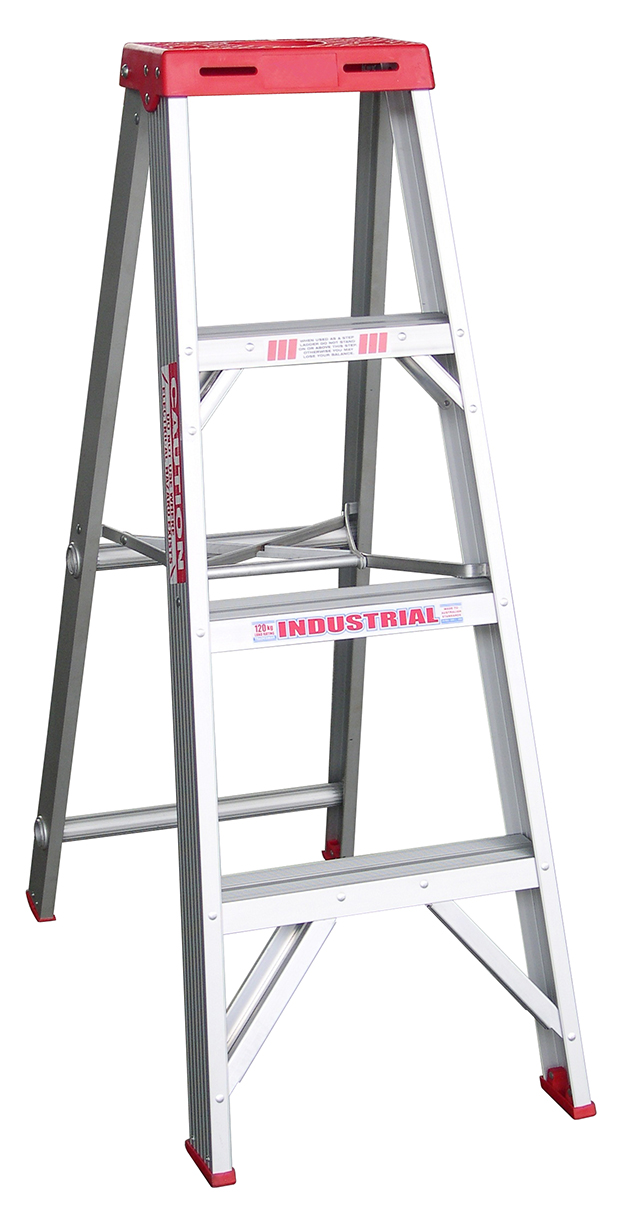 indalex tradesman aluminium single sided step ladder 4ft ladder central australia. Black Bedroom Furniture Sets. Home Design Ideas