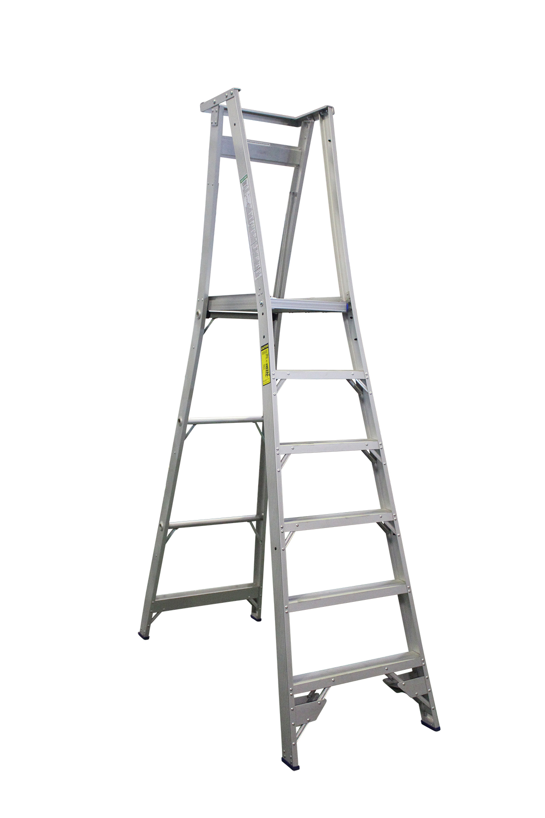 Indalex Pro Series Aluminium Platform Ladder 6 Steps 9ft